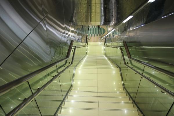 Escaliers-metro-dubai